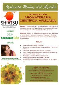 Introducción AROMATERAPIA CIENTIFICA APLICADA @ SHIATSHU SALUD INTEGRAL