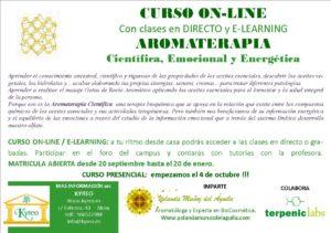 Curso ON-LINE de Aromaterapia Científica, Emocional y Energética