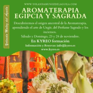 Aromaterapia Egipcia y Sagrada @ Kyreo