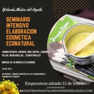 Elaboración Cosmética Econatural @ Yolanda Muñoz del Aguila
