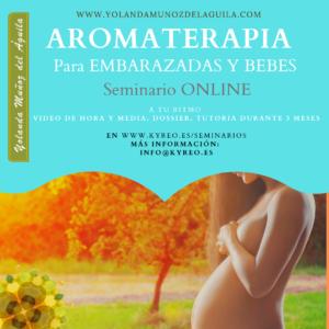 Curso OnLine de AROMATERAPIA para EMBARAZADAS y BEBES