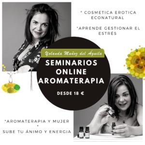 Seminarios online de Aromaterapia @ ONLINE
