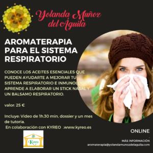 CURSO ONLINE: AROMATERAPIA Y SISTEMA RESPIRATORIO @ ONLINE