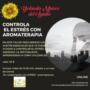 Controla el estrés con Aromaterapia @ ONLINE